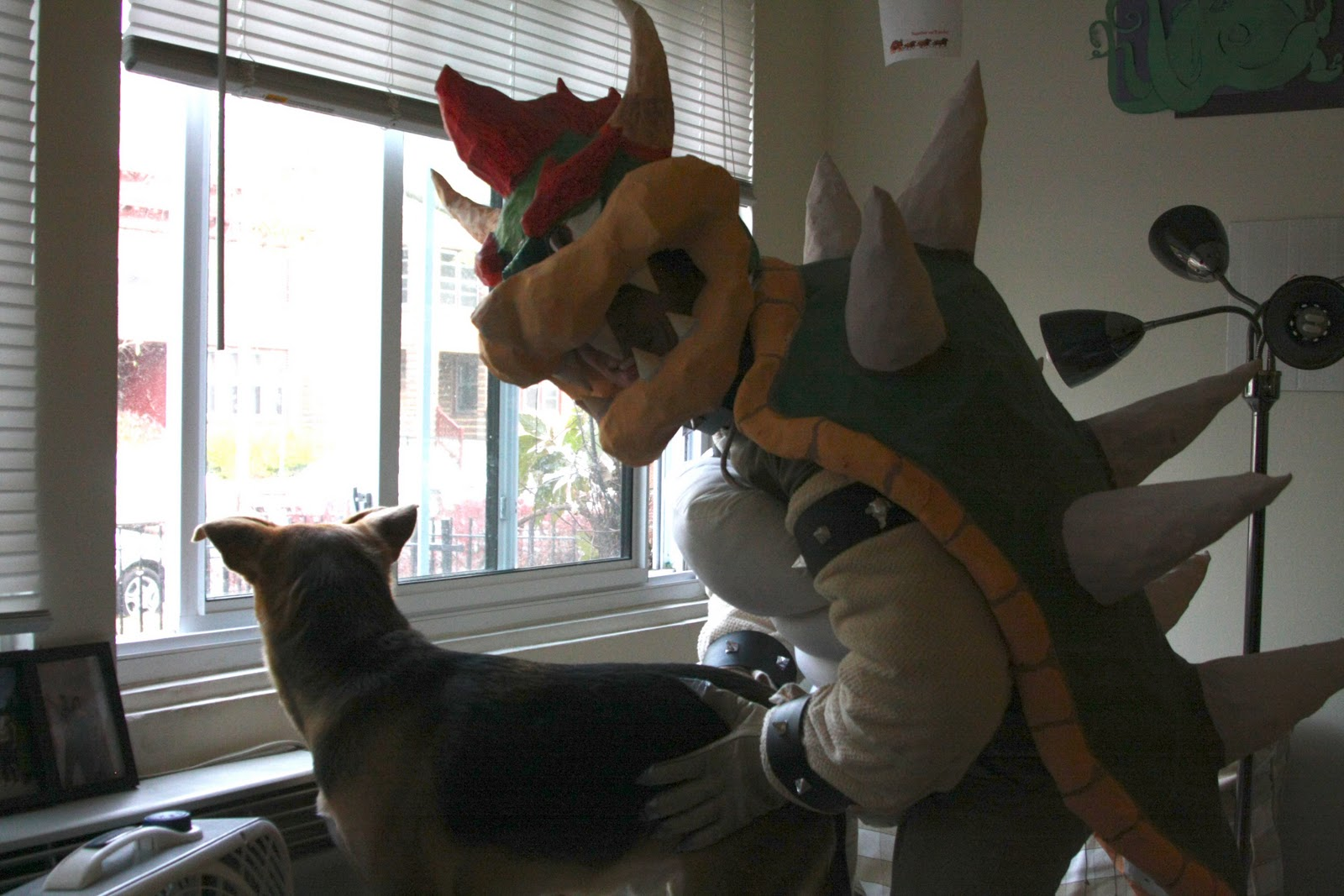 Crafts, Costumes and Cooking: Bowser Costume 2.0