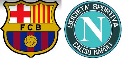 موعد مباراة برشلونة ونابولي الودية والقنوات الناقلة
