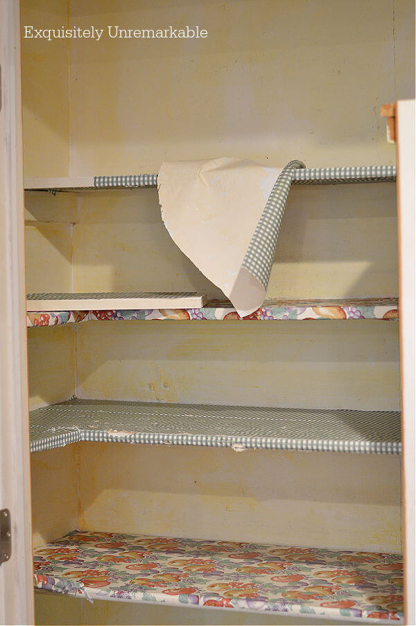 Ripping Out Old Pantry