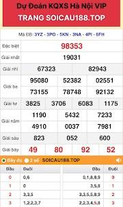 Xổ Số Hà Nội VIP 04 - Dàn Đề 5X Chuẩn HANOI VIP Hôm Nay - SOICAU188.TOP