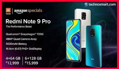 Redmi Note 9 Pro Is Set To Go On Sale Today At 12 PM Through Amazon, Mi India Site: Check Price, Specifications In India