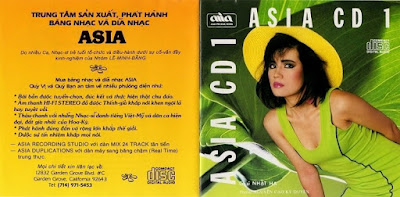 AsiaCD001 – Dạ Vũ (320kbps)