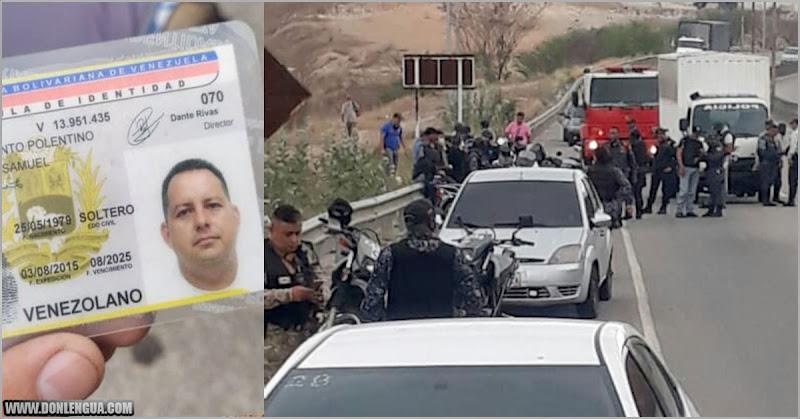 Cadáver de un PNB fue lanzado en plena carretera de Charallave