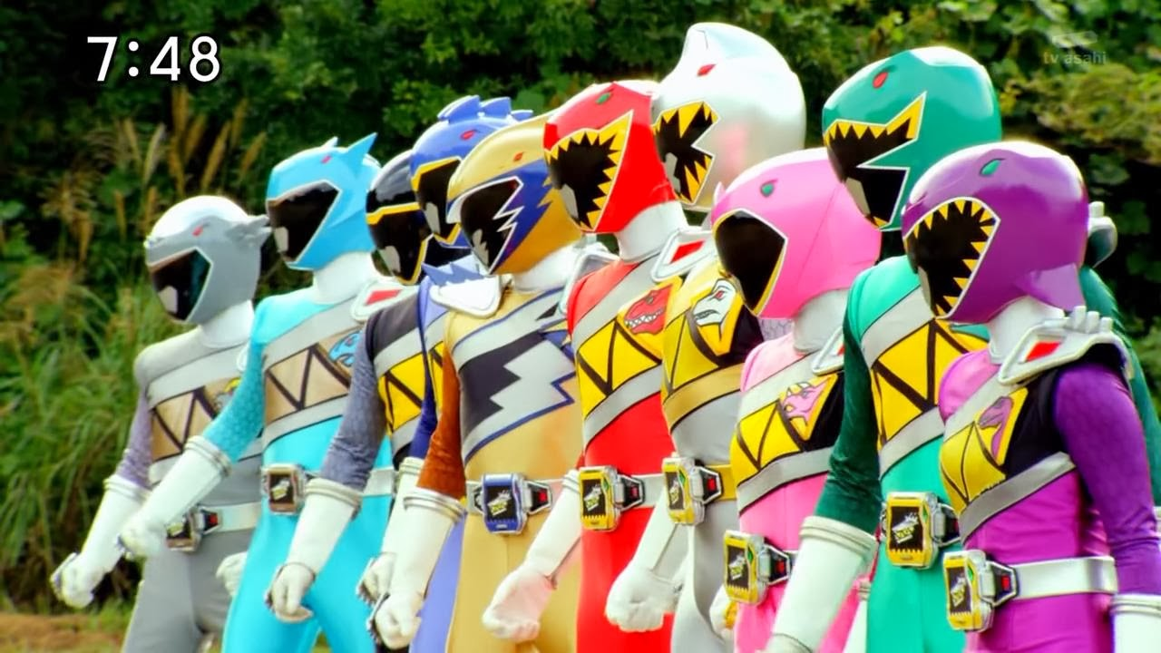 My Shiny Toy Robots: Series REVIEW: Zyuden Sentai Kyoryuger