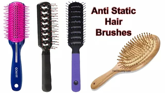 How To Get Static Out Of A Hair Brush
