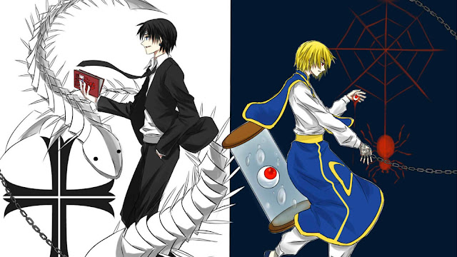 wallpaper hunter x hunter kurapika vs kuroro lucifer