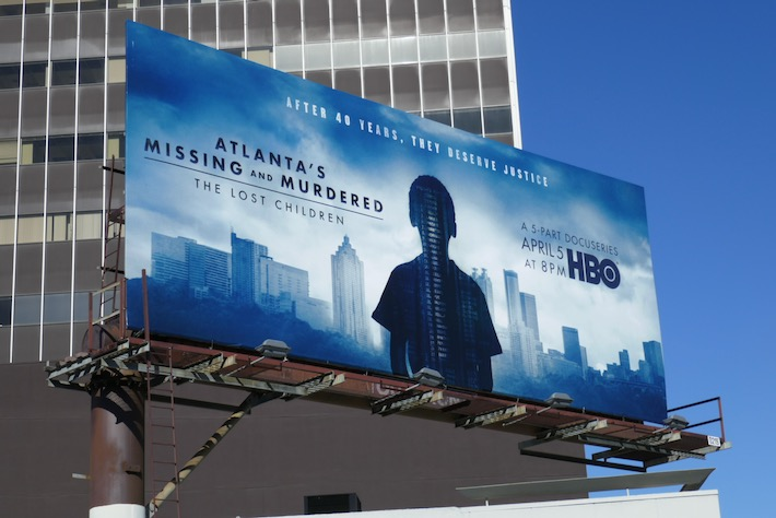 Atlantas Missing and Murdered Lost Children docu-series billboard