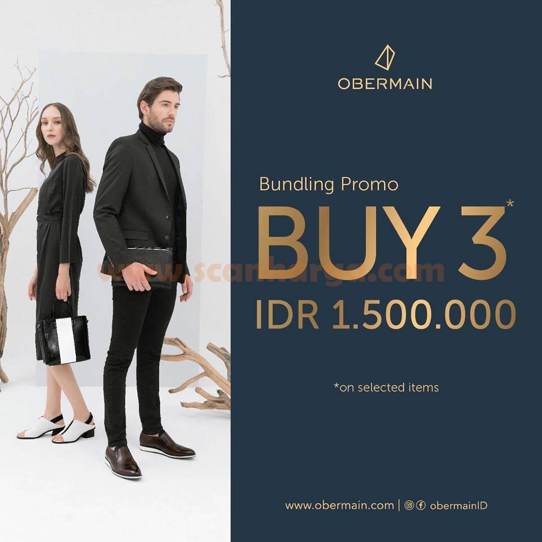9to9 Promo Obermain Buy 3 IDR 1.500.000