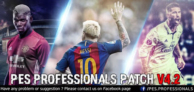 Option File PES 2016 untuk PES Professional V4.2 update 30-08-2016