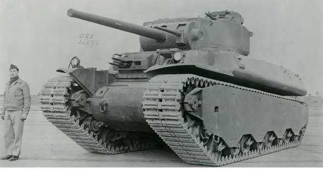 TIE2 (M6) heavy tank, 28 February 1942 worldwartwo.filminspector.com