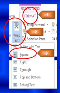 How to move picture freely in MS word