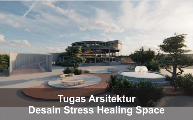 desain bangunan stress healing space urban escape