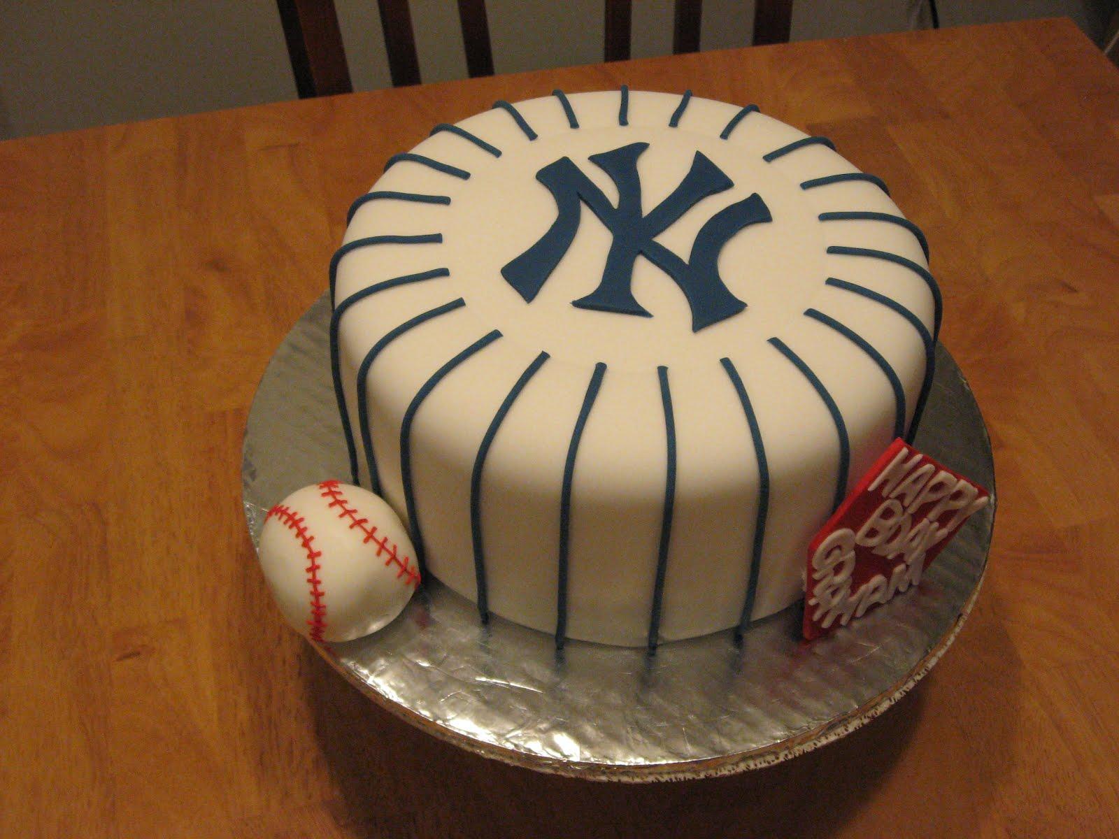 Sweet Cakes Dc Yankees Cake
