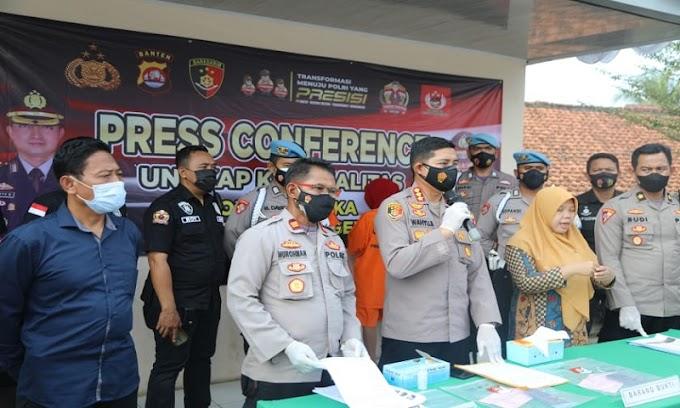 Polsek Cisoka Polresta Tangerang Bongkar Sindikat Prostitusi Online