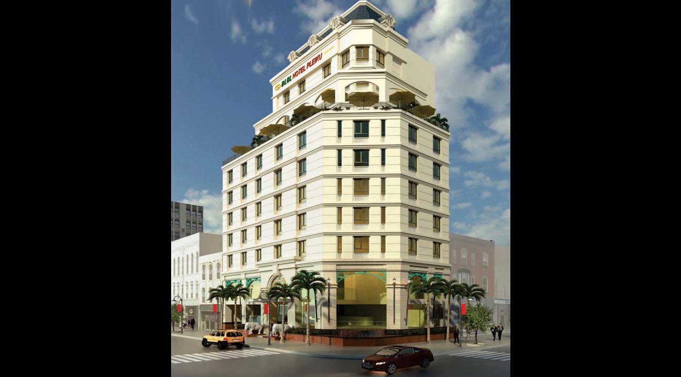 Gia Lai: Xây khách sạn 4 sao chuẩn quốc tế giữa trung tâm Pleiku