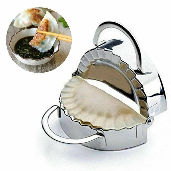 Round Stainless Steel Dumpling Maker Wrapper Mold Cookie Pastry Dough Cutter Ravioli Stamp Pasta Press Cuisine Kitchen Tools