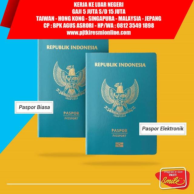 TKI Bondowoso Perlu Tahu Cara Pembuatan Paspor Dan Persyaratannya