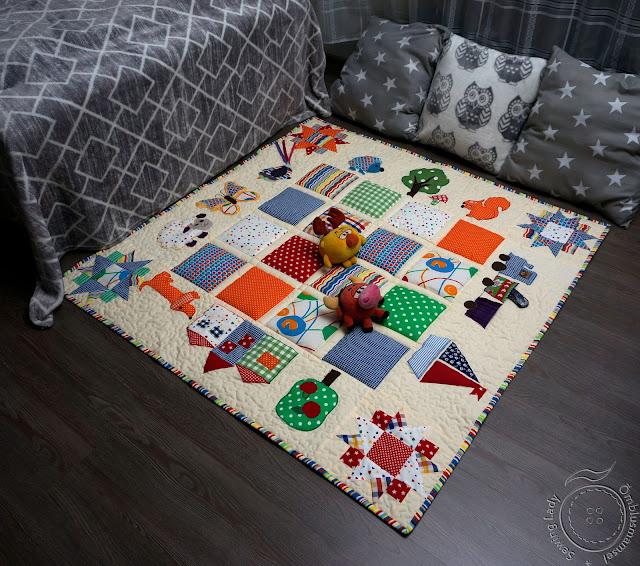 mängutekk, põrandatekk
