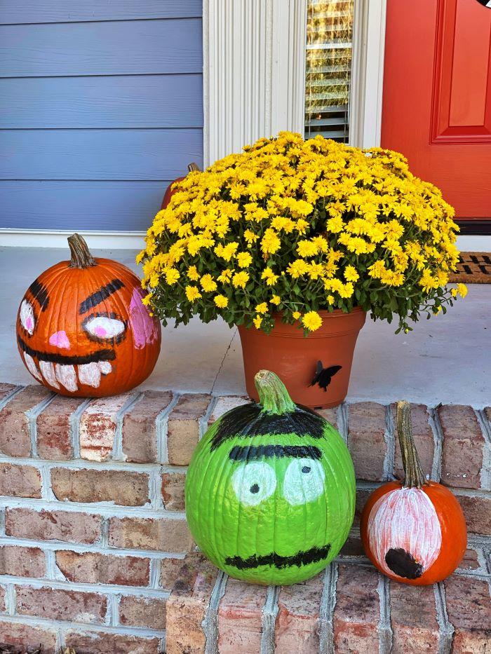 Halloween Front Porch Inspiration: Our 2021 Monster Door Edition-designaddictmom