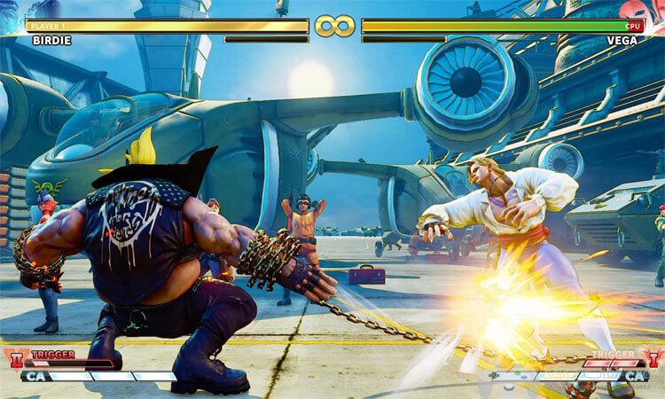 تحميل لعبة قتال الشوارع Street Fighter V