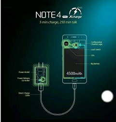 Infinix note 4 pro battery