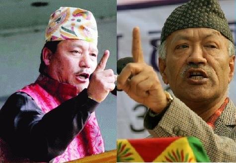 JAP Harka Bahadur Chhetri and GJM Bimal Gurung.