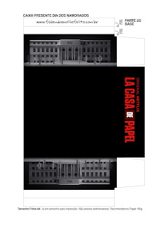 Cajas de la Casa de Papel para Imprimir Gratis.