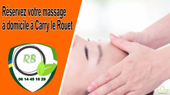 Réservez votre massage à domicile à Carry le Rouet;