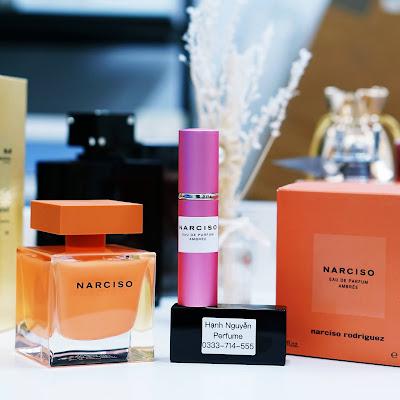 Nước hoa chiết Narciso Eau de Parfum Ambrée 10ml