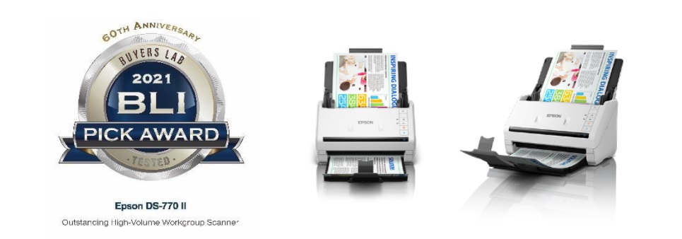 Epson WorkForce DS-770II Scanner