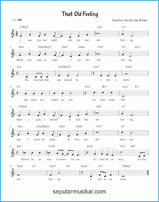 that old feeling lagu jazz standar