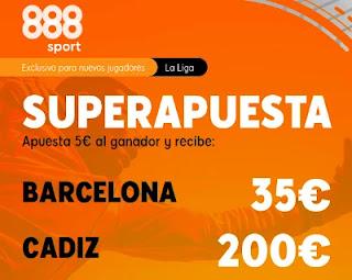 888sport superapuesta Barcelona vs Cadiz 21-2-2021
