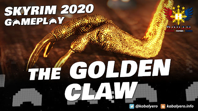 SKYRIM Gameplay 2020 (Modded)! THE GOLDEN CLAW! Retrieved!