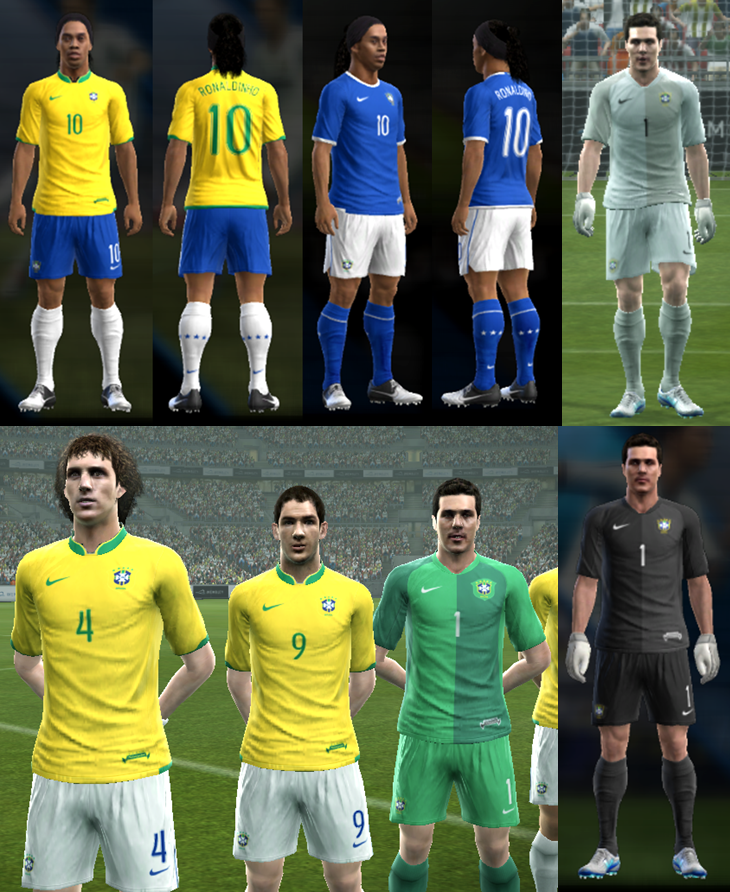 PES 2013 Brazil 2006 World Cup Full GDB (BY ANTONELLI & WAHYUST)