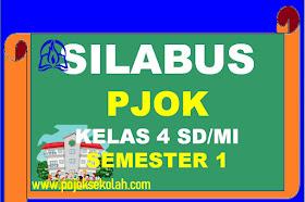 Silabus PJOK Kelas 4 SD/MI Kurikulum 2013 Revisi Terbaru Tahun 2021-2022