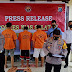 Polres Nisel Amankan 3 Orang Pelaku Pemerasan Yang Mengaku Pegawai KPK RI
