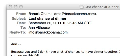 althouse email from barack