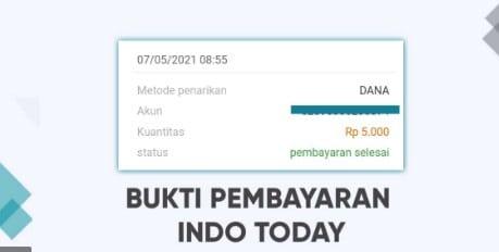 Indo today dapat 500.000