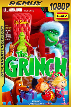 El Grinch (2018) 1080p BDRemux Latino – Ingles