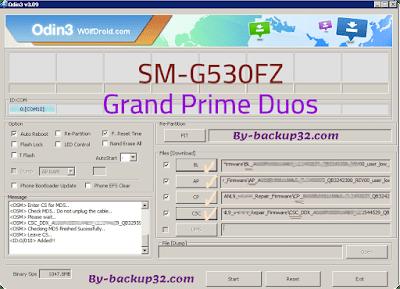 سوفت وير هاتف Galaxy Grand Prime Duos موديل SM-G530FZ روم الاصلاح 4 ملفات تحميل مباشر