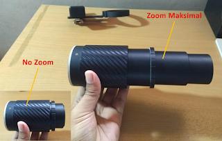 Lensbong yaitu kependekan dari lensa bongkaran Lensa Tele Multi Zoom, Lensbong Tele yang sanggup memotret BULAN