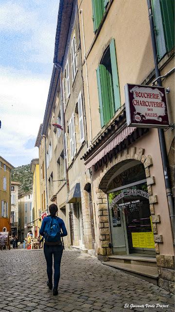 Casco Histórico de Anduze - Francia, por El Guisante Verde Project