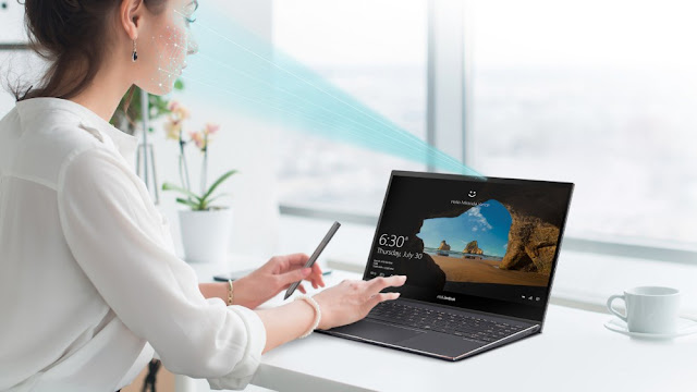 IR Camera dengan Windows Hello pada Asus Zenbook