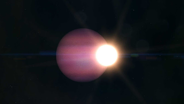 exoplaneta perto de uma estrela morta