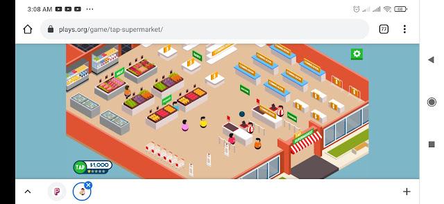 free online games tap supermarket