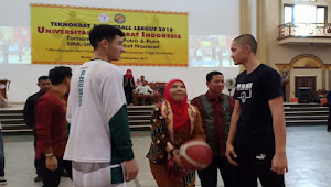 Ada Kuis Berhadiah Umroh di Acara Pembukaan Liga Basket Teknokrat