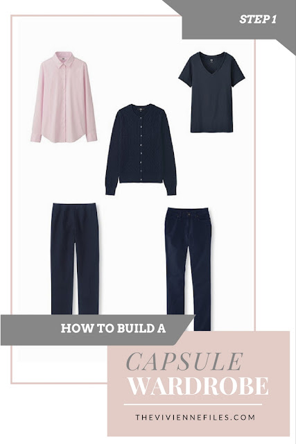 How to build a capsule wardrobe from scratch - Step 1