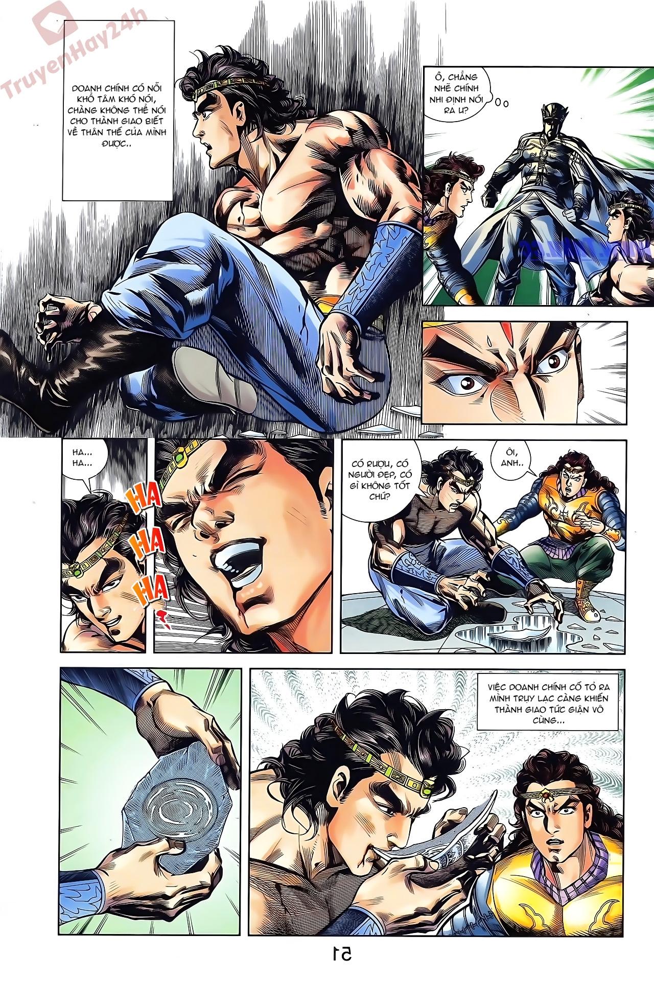 Tần Vương Doanh Chính chapter 44 trang 3