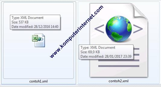 Cara Membuka File XML di PC