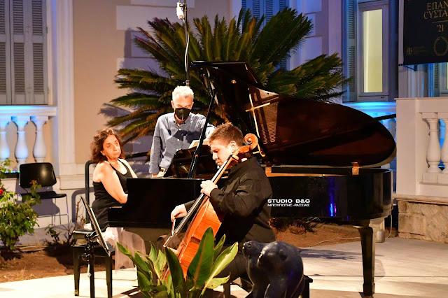 Ρεσιτάλ για τσέλο και πιάνο στο 3ο Φεστιβάλ Ναυπλίου